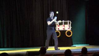 "Tennis Ball Juggling - ""Federer Eat Your Heart Out"" by Ivan Pecel"