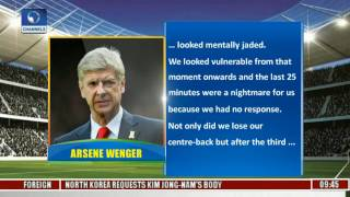 Sports This Morning:Analysing Arsenal 5-1 Loss to Bayern, Newspaper Review Pt 2