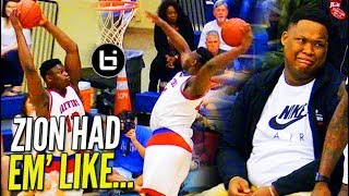 Zion Williamson GOES LOB CITY vs The BEACH BOYS in 1st Rd of Playoffs!