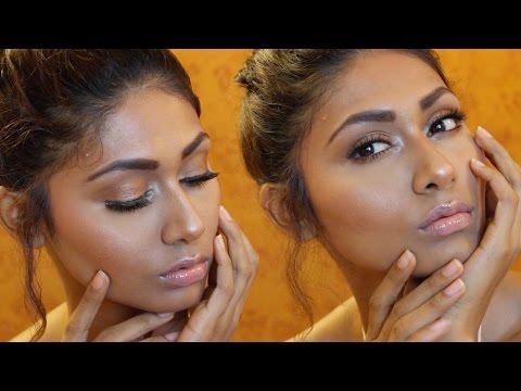 Sexy Bronze Glow Makeup Tutorial (Best for Indian Skin) | Bosslady Shruti