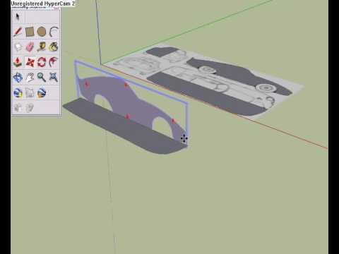 Google sketchup как сделать машину