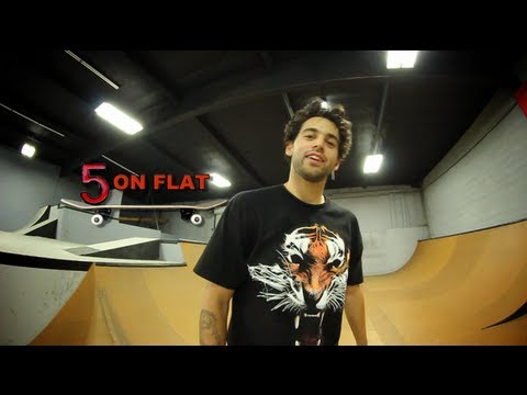 5 On Flat With Paul Rodriguez