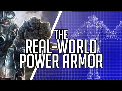 The TECH! How close are we to POWER ARMOR technology?