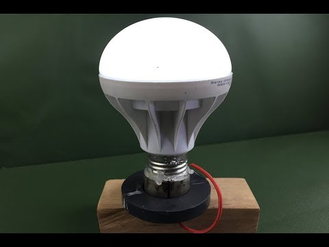 New electricity light bulbs with magnets 100%   New free energy generator 2018 thumbnail
