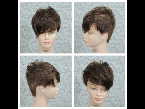 Female Short Haircut Tutorial