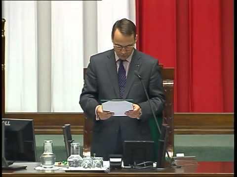 Radosław Sikorski - wystąpienie z 10 października 2014 r.