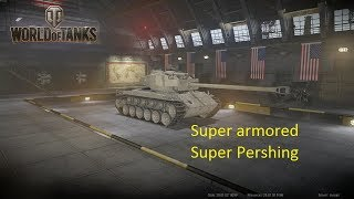 super armored super Pershing [wot console]