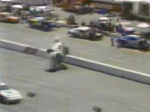 Rusty Wallace flips at Bristol Video