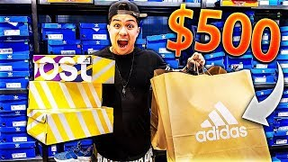 THE $500 ADIDAS OUTLET CHALLENGE!!