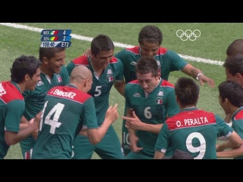 Football Men's Quarterfinals - Mexico v Senegal -  London 2012 Olympic Games Highlights