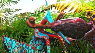 Roubando a Carcaça de Outro Predador! Vida de Dinossauros de Asa! Beasts of Bermuda (PT/BR)