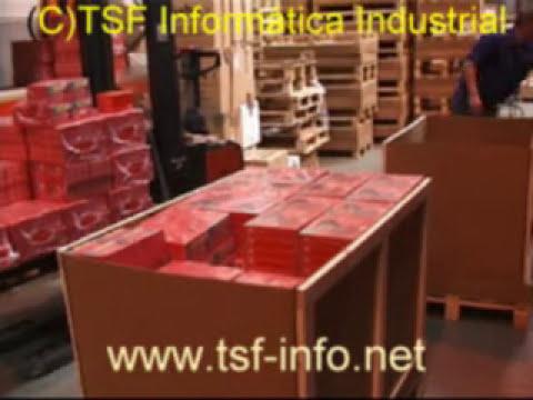 Almacén de picking con terminales de radiofrecuencia realizado por TSF - SGA Visual SACA Pro