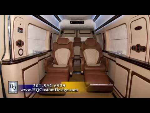MERCEDES BENZ SPRINTER LUXURY CONCEPT VAN