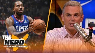 Colin Cowherd plays the NBA 3-Word Game | NBA | THE HERD