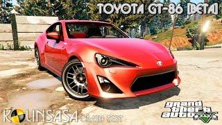 GTA 5 Crash test - Toyota GT-86 [Beta]