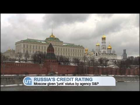 Russia Credit Rating: Russian credit rating downgraded to 'junk' by Standard & Poor's