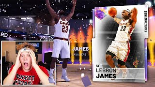 OMG I PULLED 99 OVR GALAXY OPAL LEBRON JAMES NBA 2K19