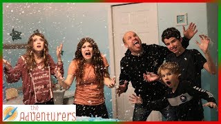 It's Snowing Inside Our House! The Gnomes Made It Snow! I That YouTub3 Family The Adventurers