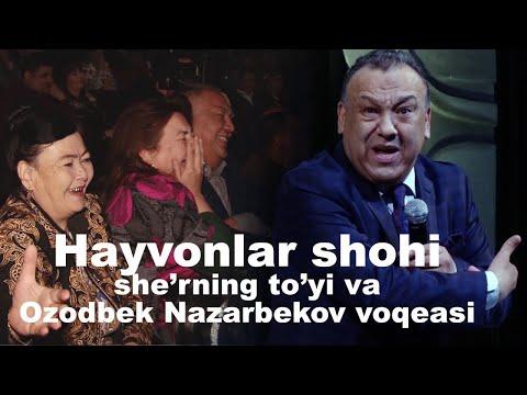 Mirzabek Xolmedov - Hayvonlar shohi sherning to'yi va Ozodbek Nazarbekov voqeasi