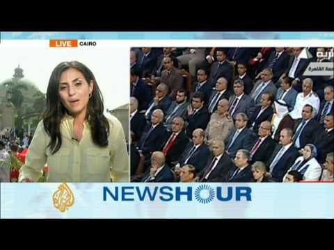 Al Jazeera's sherine Tadros with the latest update from Egypt.