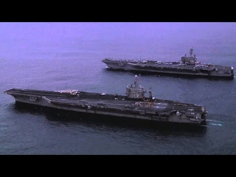 USS Harry S. Truman (CVN 75) & USS George H. W. Bush (CVN 77)