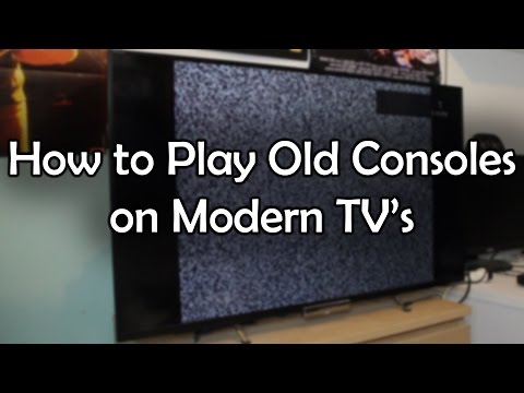 How to Play Old Consoles on Modern TV's