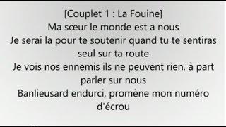 La Fouine ft Reda Taliani - Va Bene (Paroles-Lyrics) - HQ