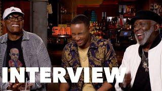 Download Lagu SHAFT Funny Cast Interview: Samuel L. Jackson, Richard Roundtree,  Jessie T. Usher, Alexandra Shipp Gratis Mp3 Pedia