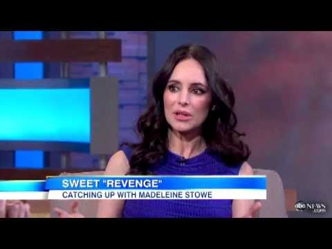 Madeleine Stowe on GMA [2013]