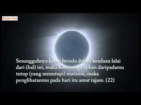 Bacaan Al-Quran yang Sangat Menyentuh Hati oleh Yasser Al Dosari - Surat Qaf (Bahasa Indonesia)
