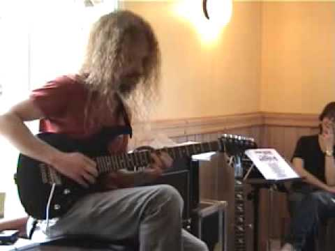 Guthrie Govan playing