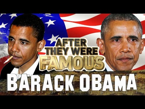 BARACK OBAMA - AFTER They Were Famous - TRUMP INAUGURATION