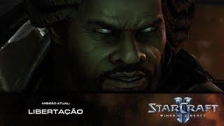 StarCraft 2 Wings Of Liberty #16 - Libertação!