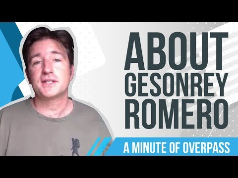 About Gesonrey Romero - A Minute of Overpass