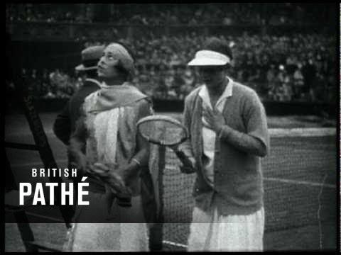 Wimbledon Tennis Finals - Archive footage montage, 1910-1970