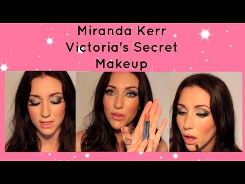 Miranda Kerr Victorias Secret Makeup Tutorial!!! .mov