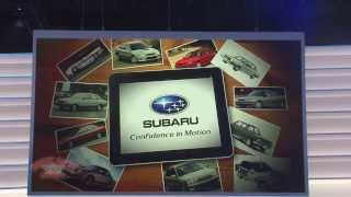 2013 LA Auto Show - Subaru Presentation: New WRX and Legacy Concept