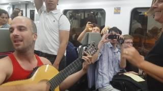 Despacito Luis Fonsi en el tren cover