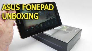 ASUS Fonepad Unboxing (7 inch 3G tablet) - Tablet-News.com