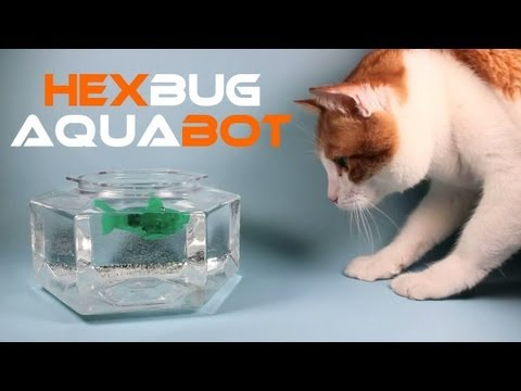 HexBug Aquabot Smart Fish Technology Review