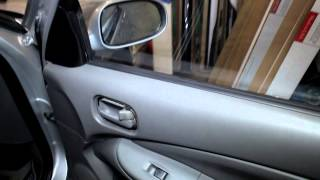Nissan Almera disassembly door ( Nissan Almera Разборка двери )