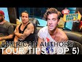 American Authors - TOUR TIPS (Top 5) Ep. 779 [Warped Edition 2017]
