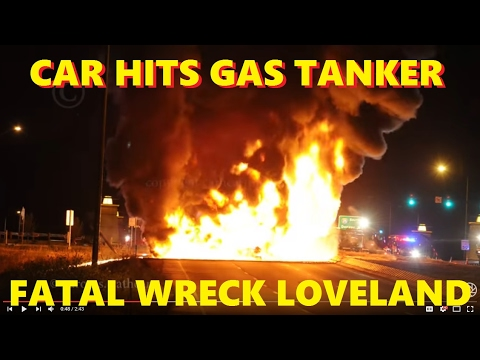 gas tanker wreck in loveland, co