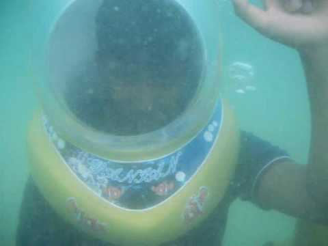 My underwater walk in thailand at coral islands