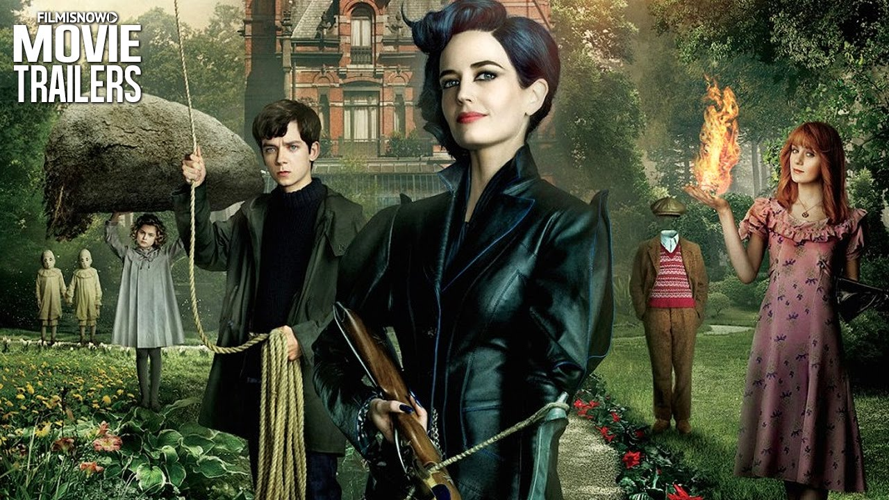 Escape the ordinary in Tim Burton's Miss Peregrine's Home for Peculiar Children