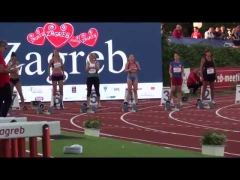 69. Hanžek, Zagreb, 100 m za žene, veteranke - 03.09.2019