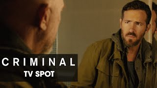 """Criminal (2016 Movie) Official TV Spot – """"Impossible"""""""