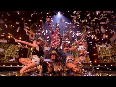 Stevi Ritchie sings Kenny Loggins' Footloose | Live Week 3 | The X Factor UK 2014