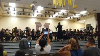 Mission Middle School Band Concert.. Disney's Magical Marches ...