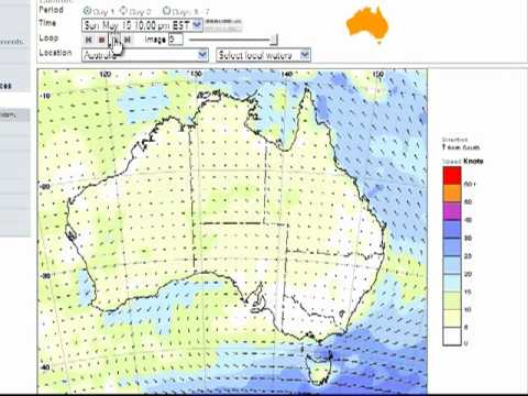 Using BOM Site for Marine Weather Forecasts